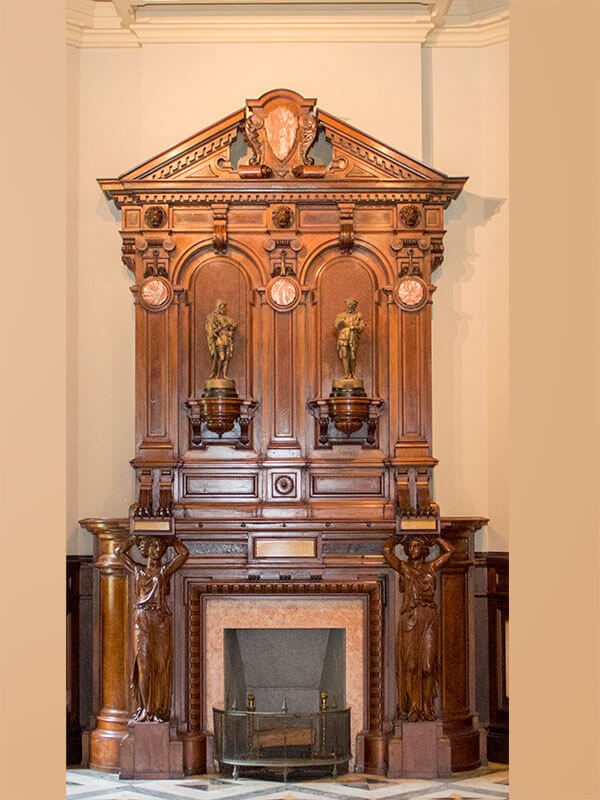 Entrance Hall Mantle