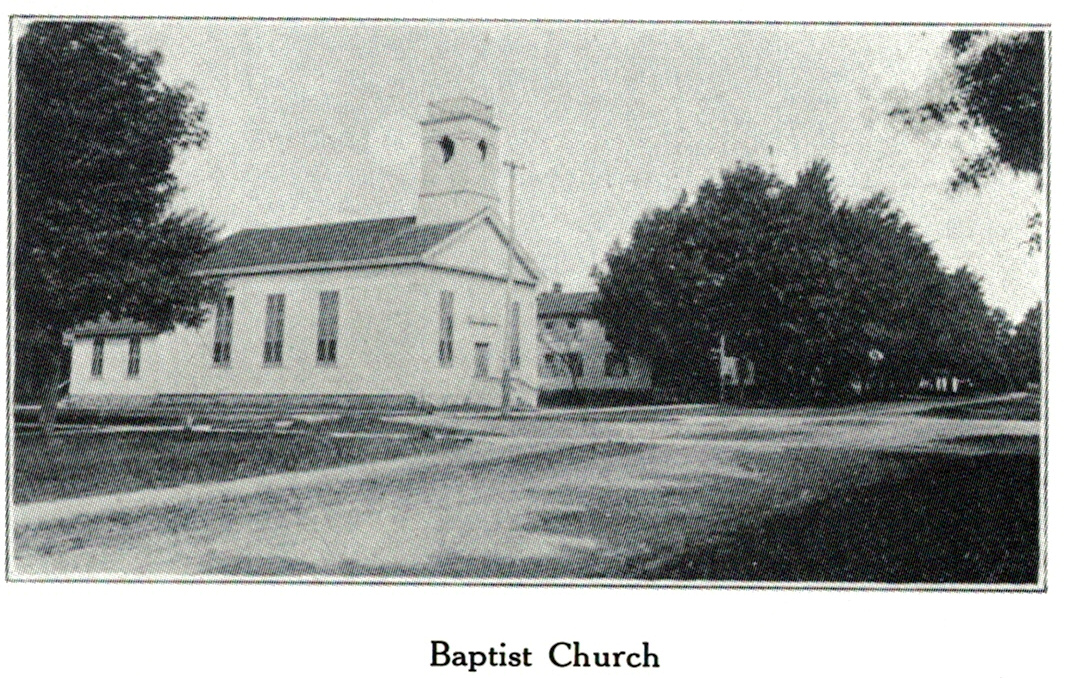 First Baptist Church of Rochester, south and east elevations, 1907