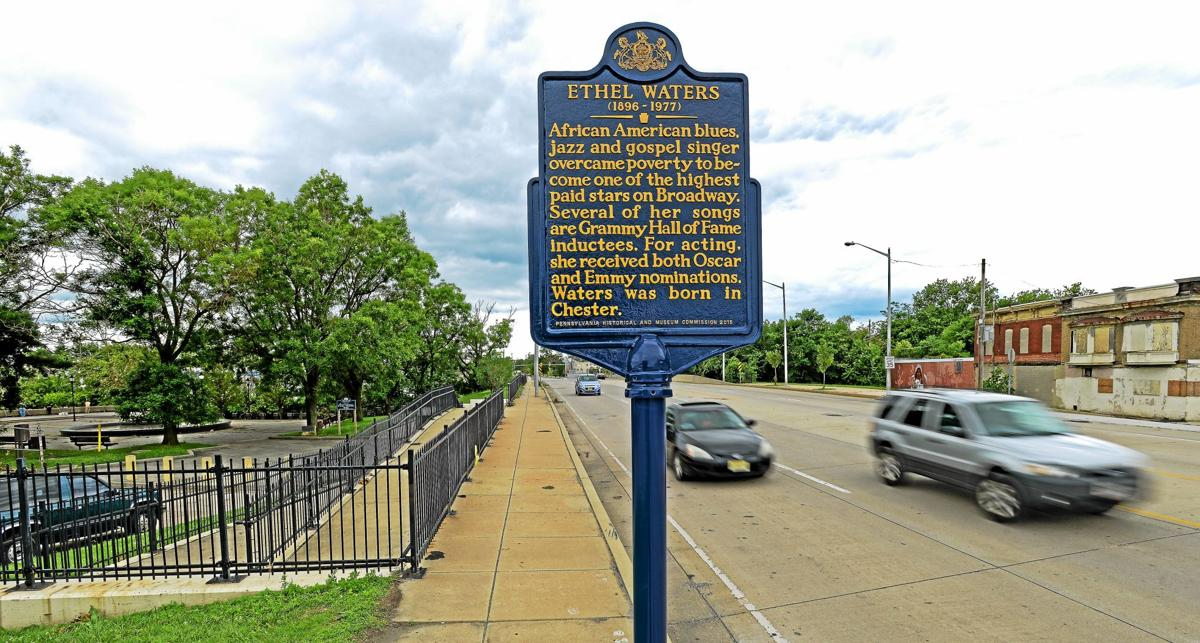 Ethel Waters Commemorative Marker - Route 291 - Chester, Pennsylvania