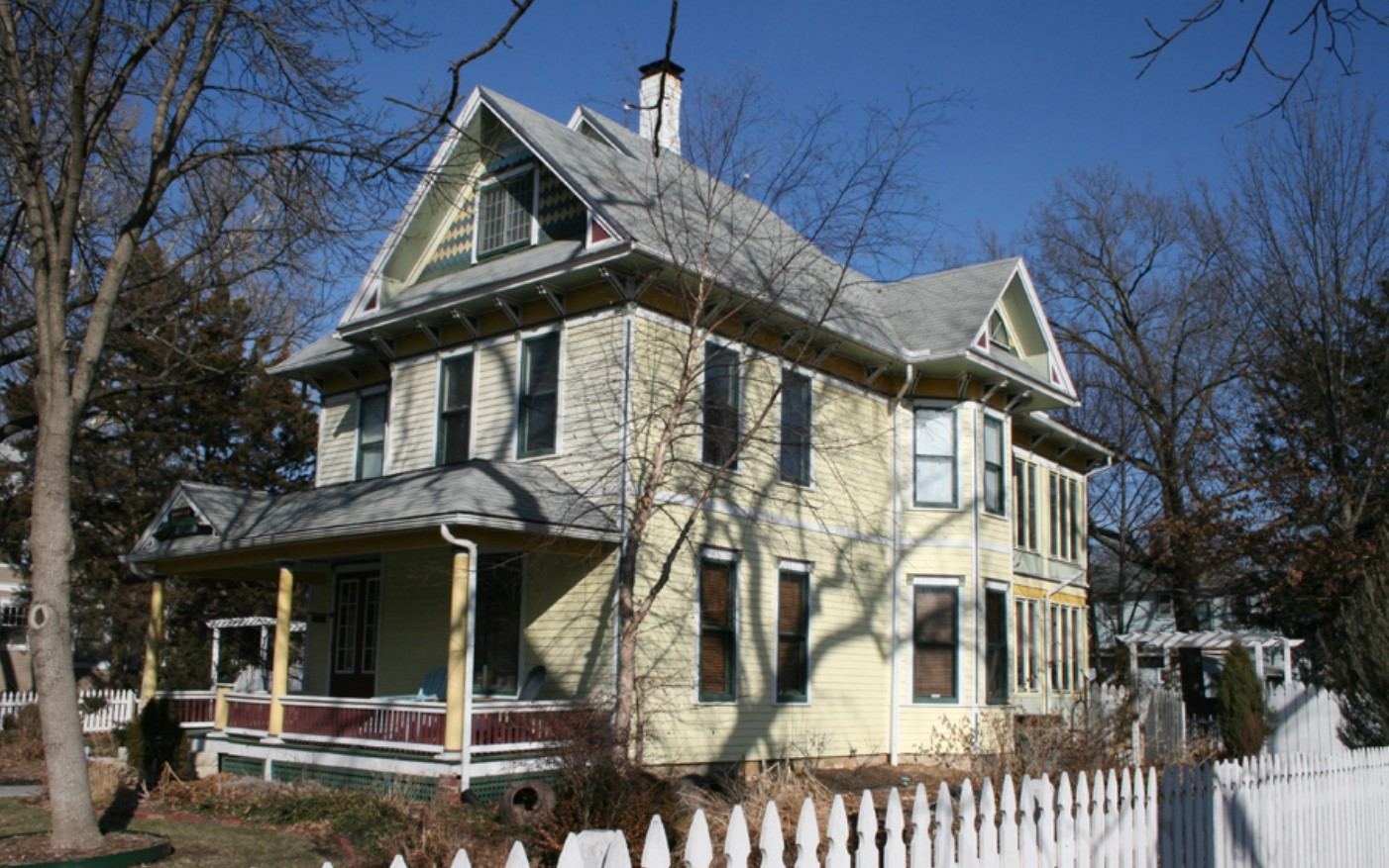 2008 photograph of Edward House home by Hernly Associates (Kansas Historic Resources Inventory database)