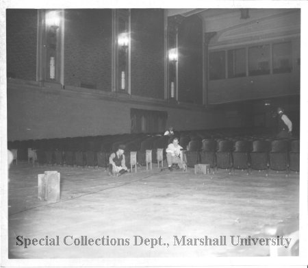 Interior of the Orpheum Theater, date unknown