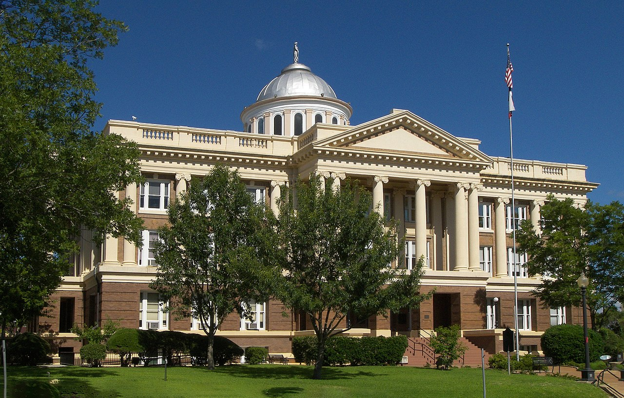 The Anderson County Courthouse was built in 1914 and is one of the most architecturally impressive courthouses in Texas.