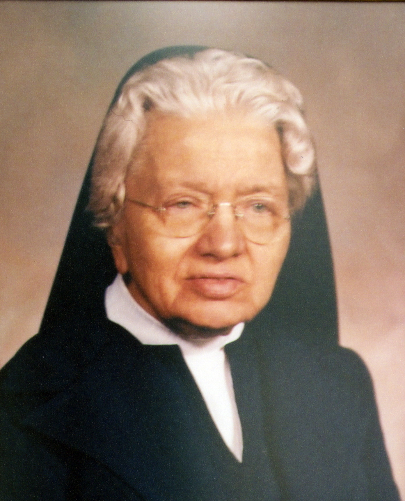 Sister Blandine Eisele, c. 1980.