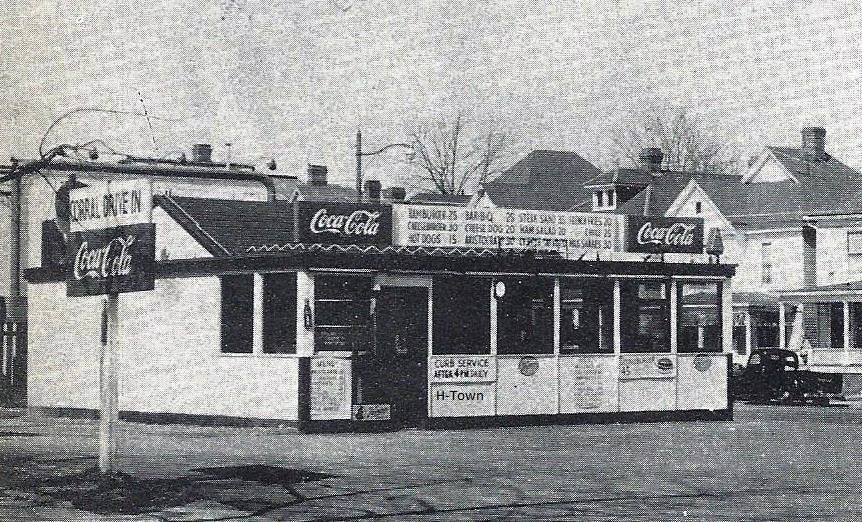 Corral Drive-In, before it was demolished to make way for the Sixteenth Street Wiggins