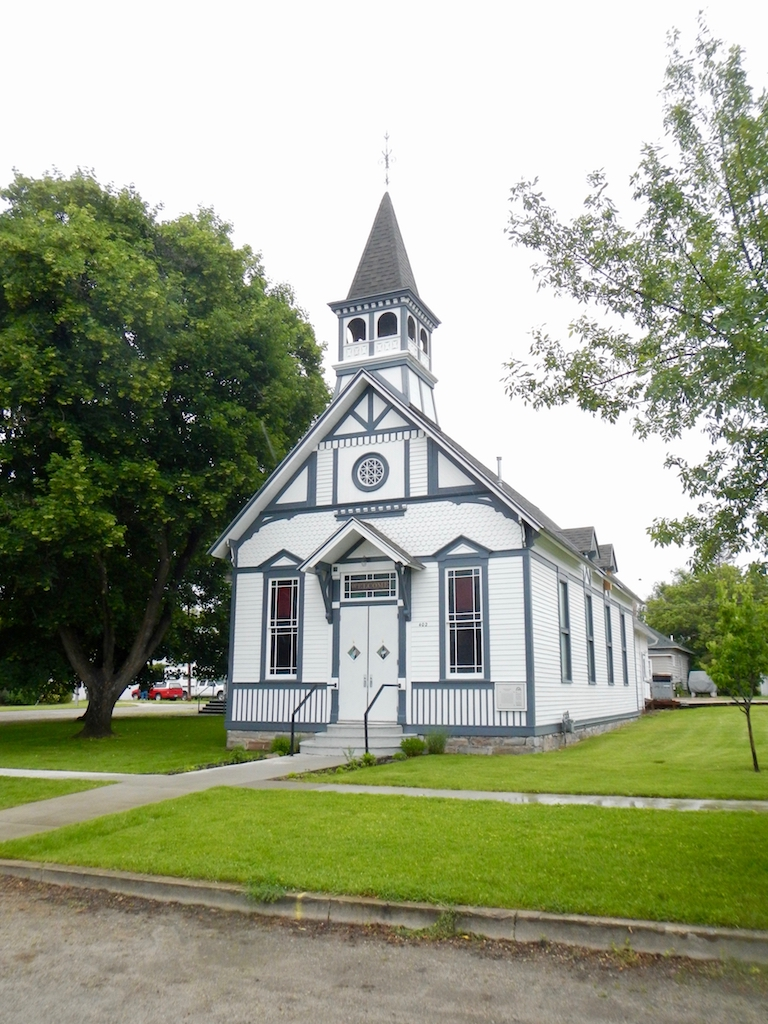 Bitterroot Family Church was erected in 1886 and is a rare example of Stick Style architecture in Montana.