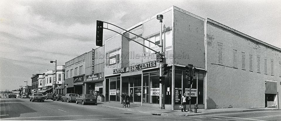 Capitol Music in Schanck Building, 1984