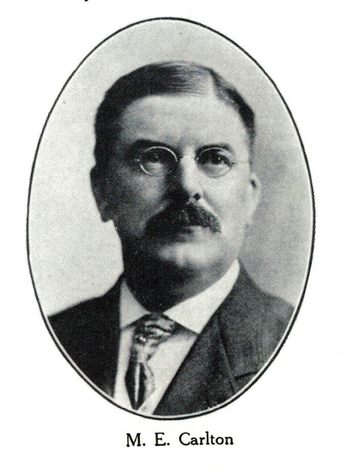 Marcus Eugene Carlton, ca. 1907