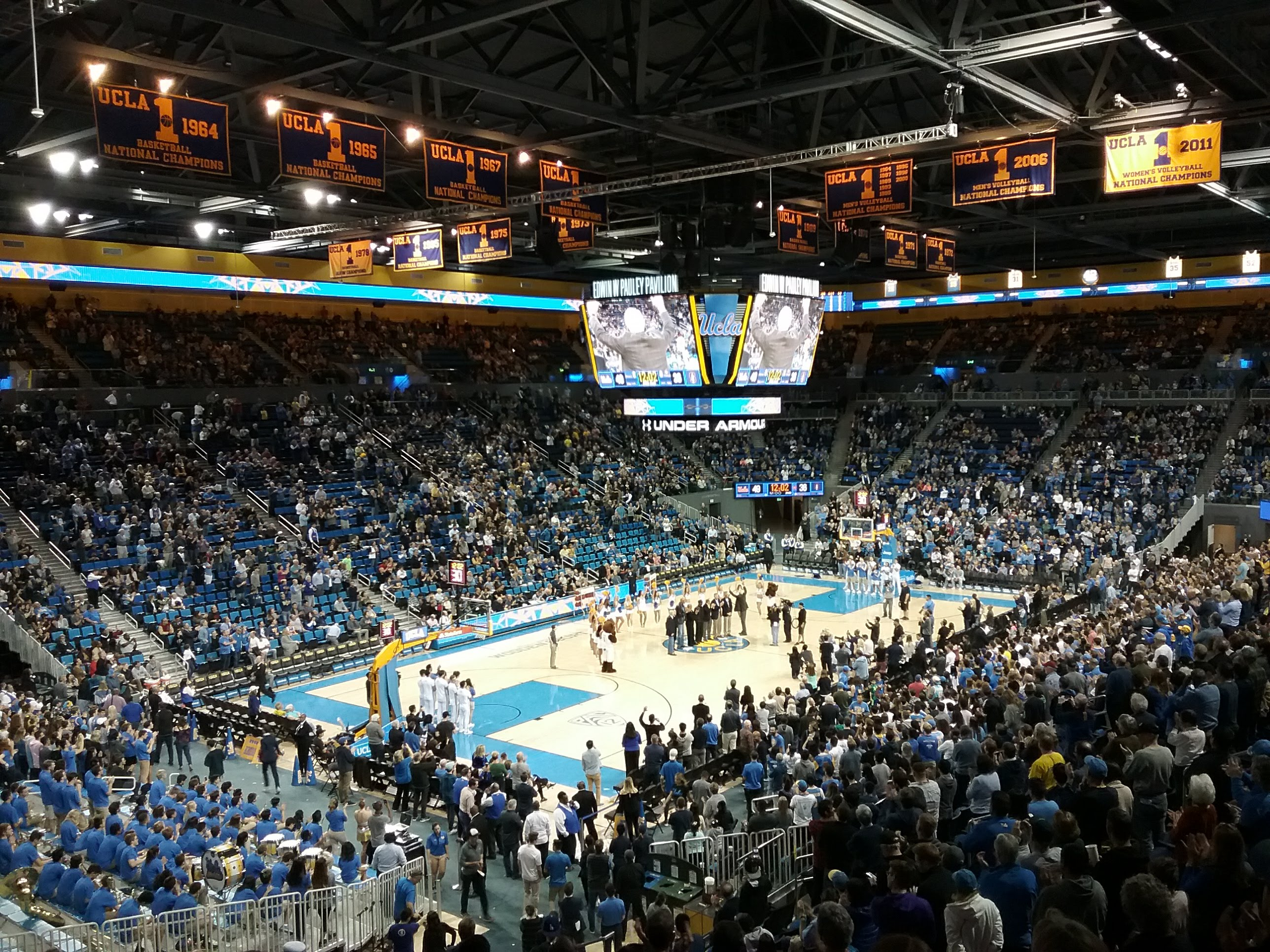 Inside Pauley Pavilion