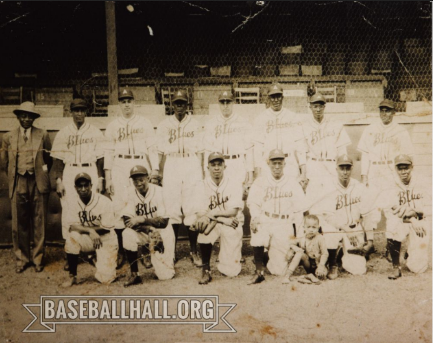 1947 Asheville Blues team picture