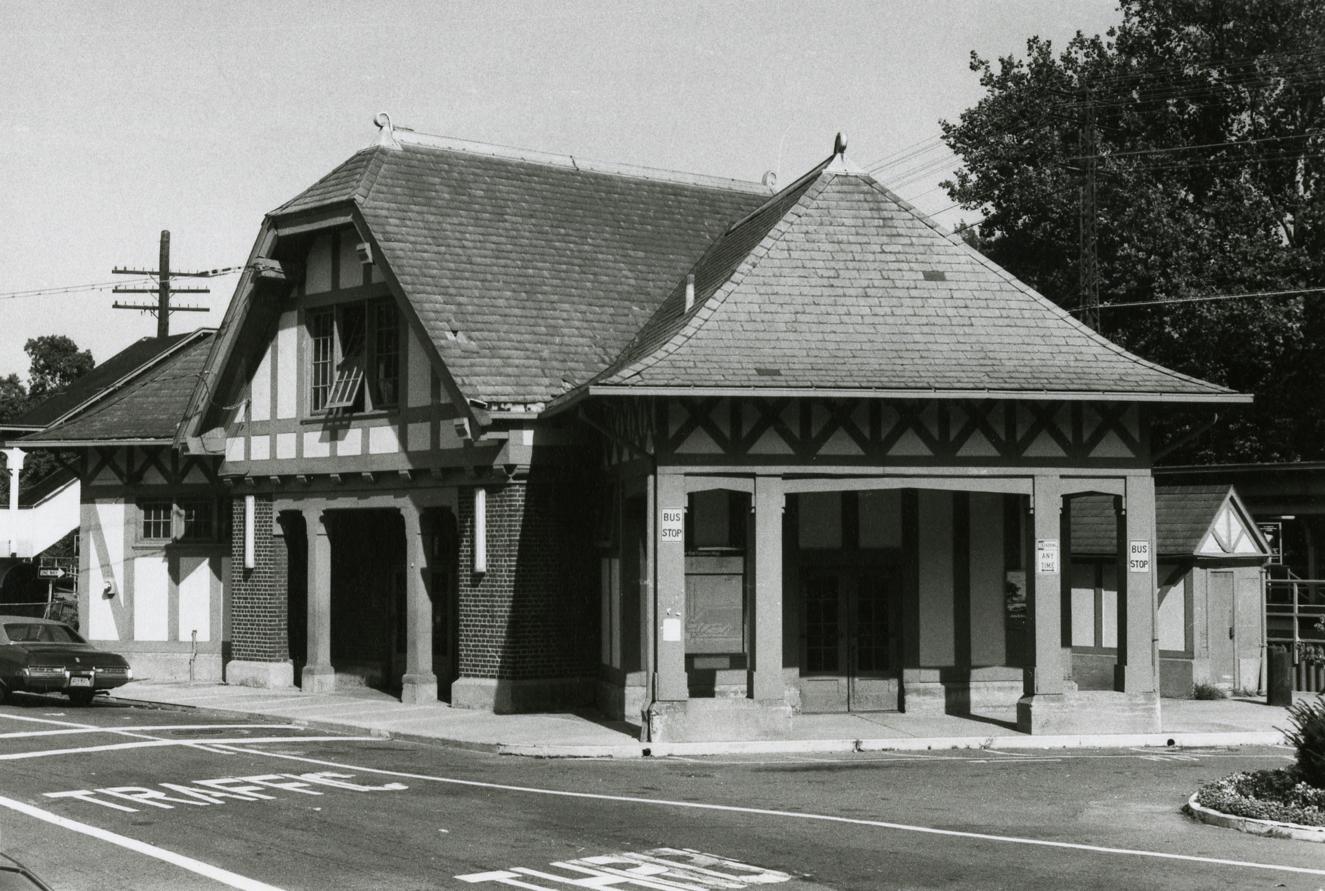Hartsdale Railroad Station, c.1975.