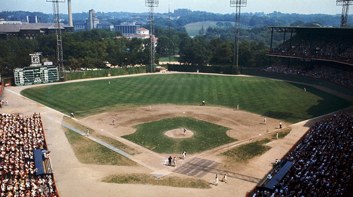 Forbes Field was the home field of the pirates for most of clementes career and the place that he helped break the Latin baseball barrier.