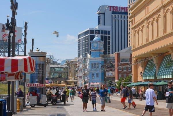 Atlantic City Boardwalk (circa 2020)