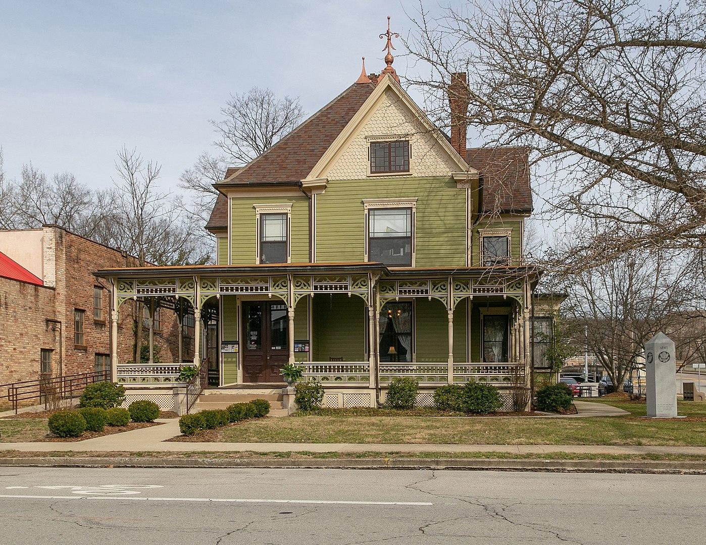 Gooch House in Frankfort Kentucky, now home to the Kentucky Distillers Association.