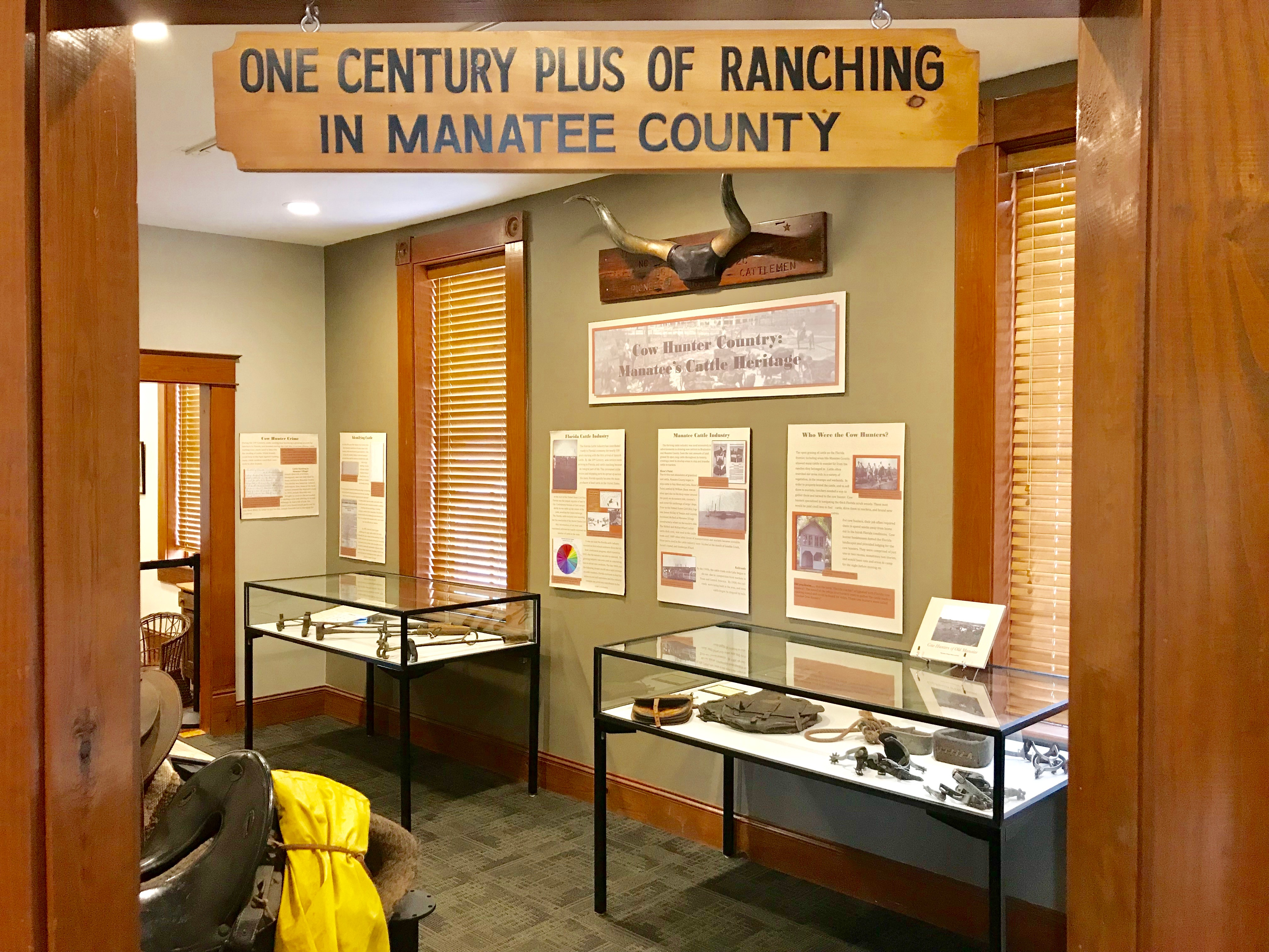 Manatee County's Cattle Industry Exhibit