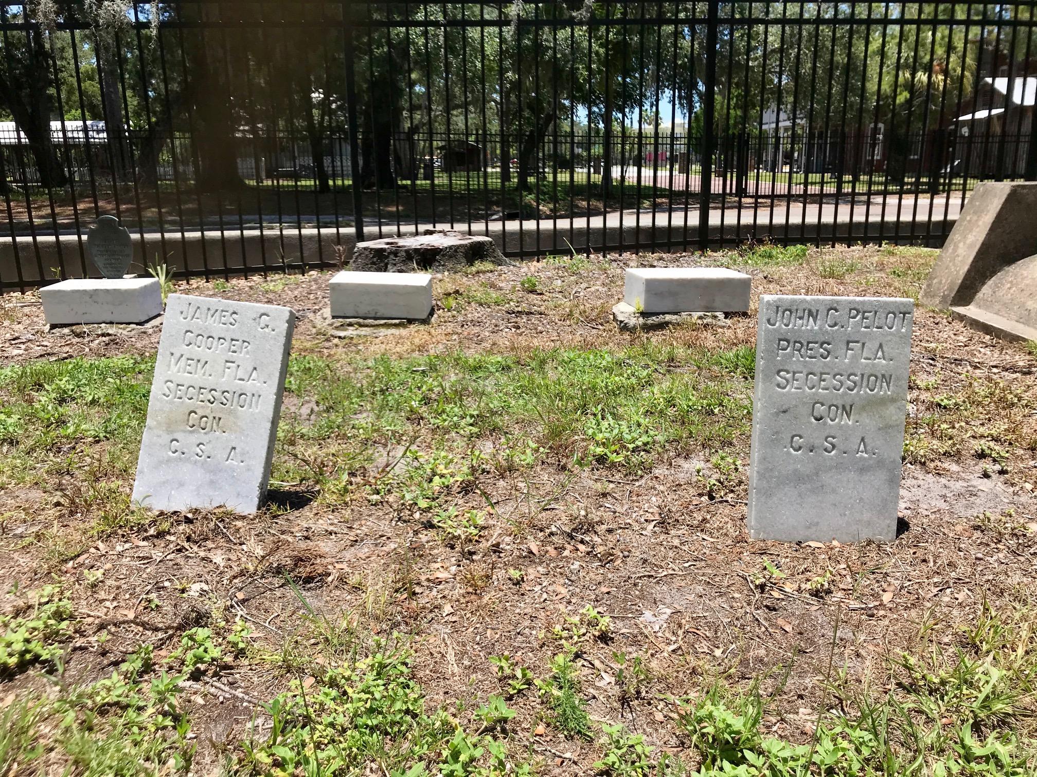 Cooper-Pelot Family Graves