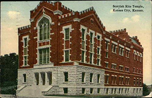 Scottish Rite Temple color postcard, date unknown
