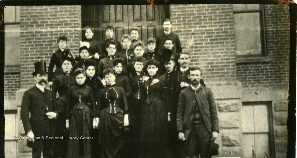 Faculty of Oley School, 1890s