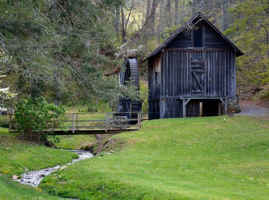 Spring time at the Francis Grist Mill