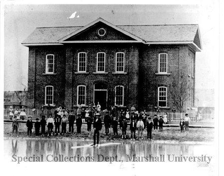 The original Buffington School on 4th Avenue