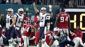 Tom Brady after winning the game Super Bowl LI