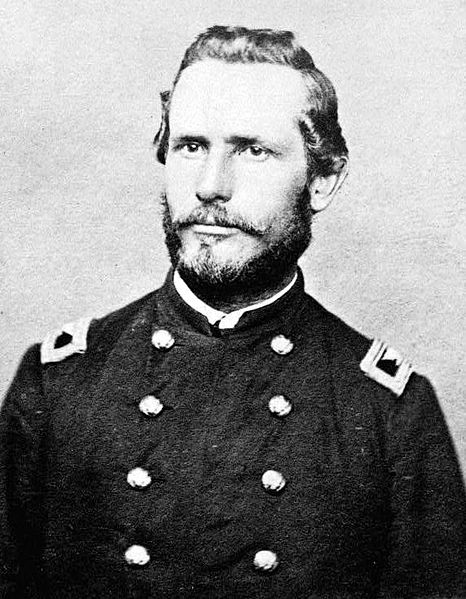George R. Latham, Union commander at the skirmish at Beverly.