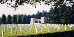Oise-Aisne American Cemetery and Memorial, near Fère-en-Tardenois in northern France