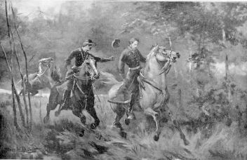 This portrays the shooting of Jackson by his own men.