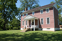 The Ellwood House was used by Union Major General Gouvemor K. Warren, in command of the Union 5th Corps. This is the only original structure that stands to this day