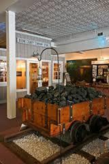 The first display you will see at Bituminous Coal Heritage Foundation Museum