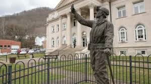 The Coal Miner's Statue represents all present and past coal miners.