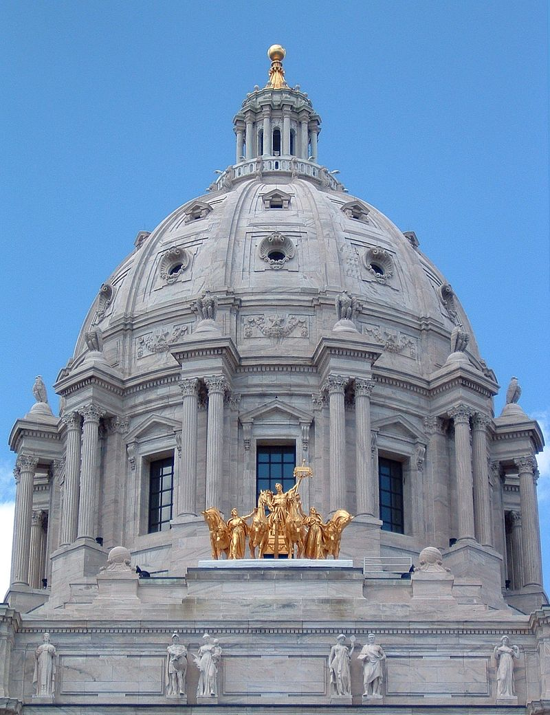 Closeup of the dome