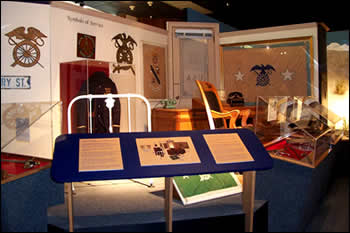 History and Heritage Collection at the museum.