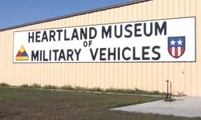 Heartland Museum of Military Vehicles building.