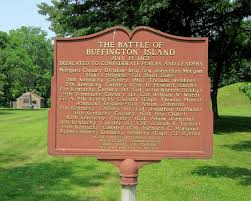 This historic marker is located near the small parking lot on HWY 124