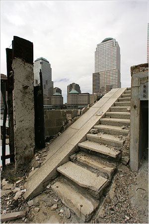 Survivors' Staircase at World Trade Center Site