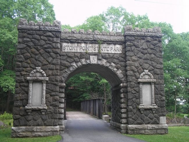 Entrance to the Stony Point Battlefield