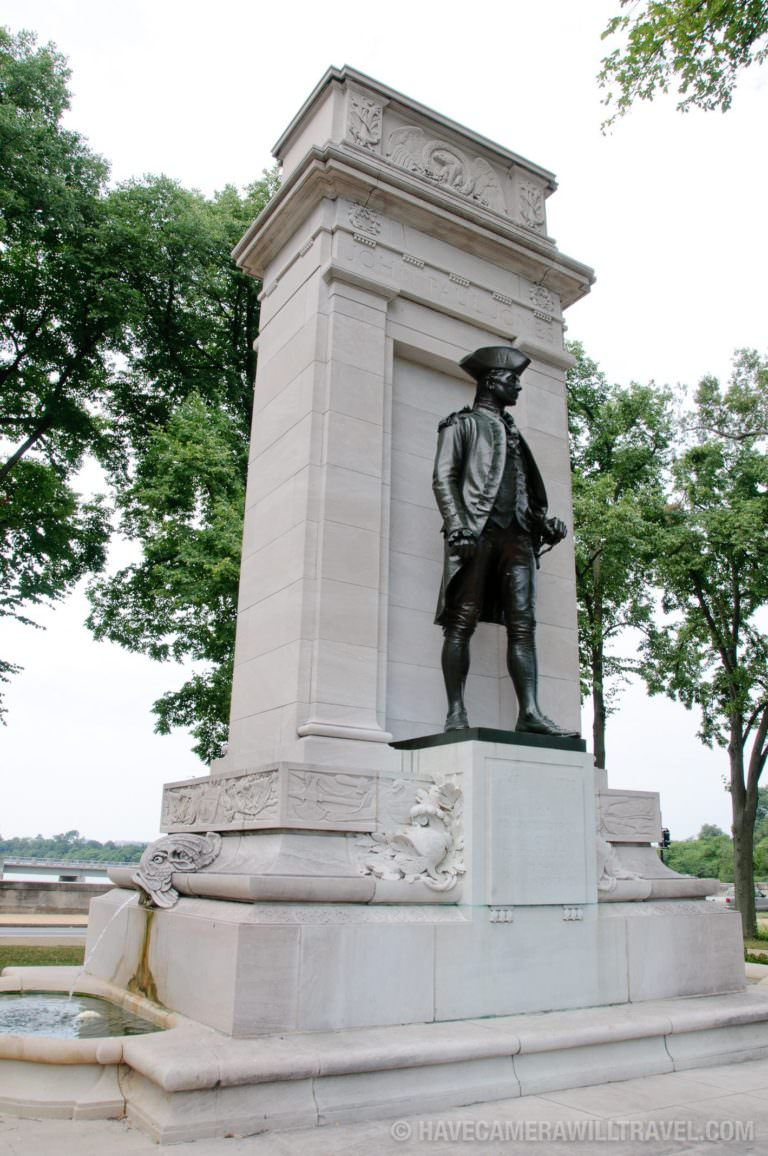 Photo of the John Paul Jones Memorial