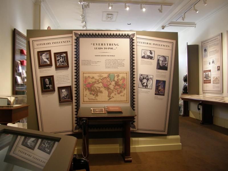 An exhibit within the Historic Site.