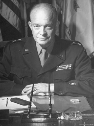 General Eisenhower as Supreme Allied Commander during World War II