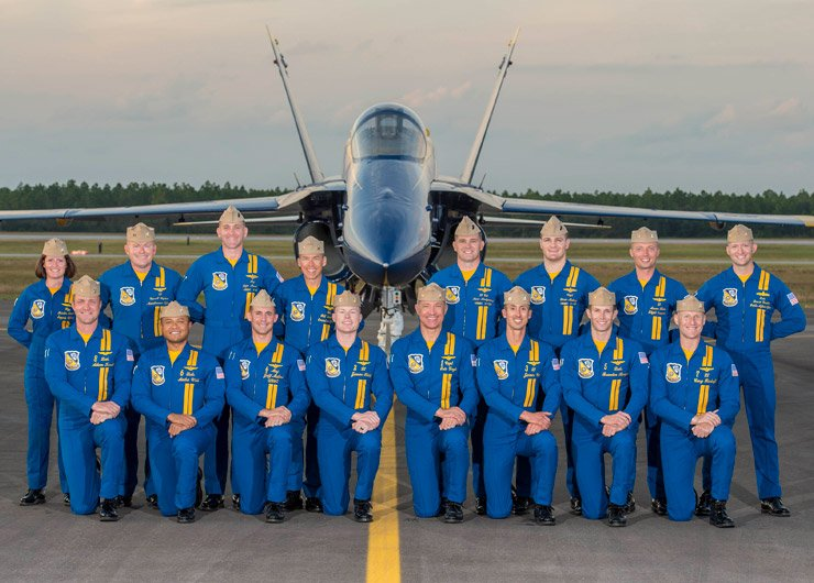 2019 Blue Angels Officer Team