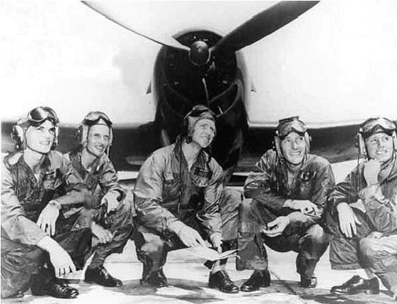 First Blue Angel Squadron, 1946-1947