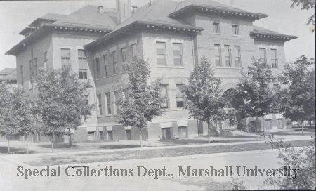 Huntington high school, ca. 1910