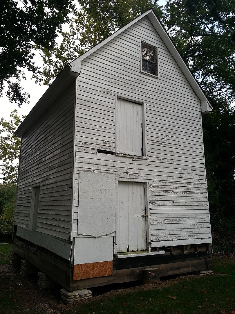 2012 photo of Causey's Mill (Bob0the0mighty, Wikimedia)