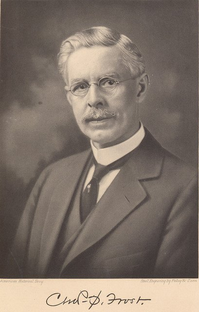 Charles Sumner Frost, architect of Municipal Pier. It was renamed Navy Pier in 1927, only a year before his death.