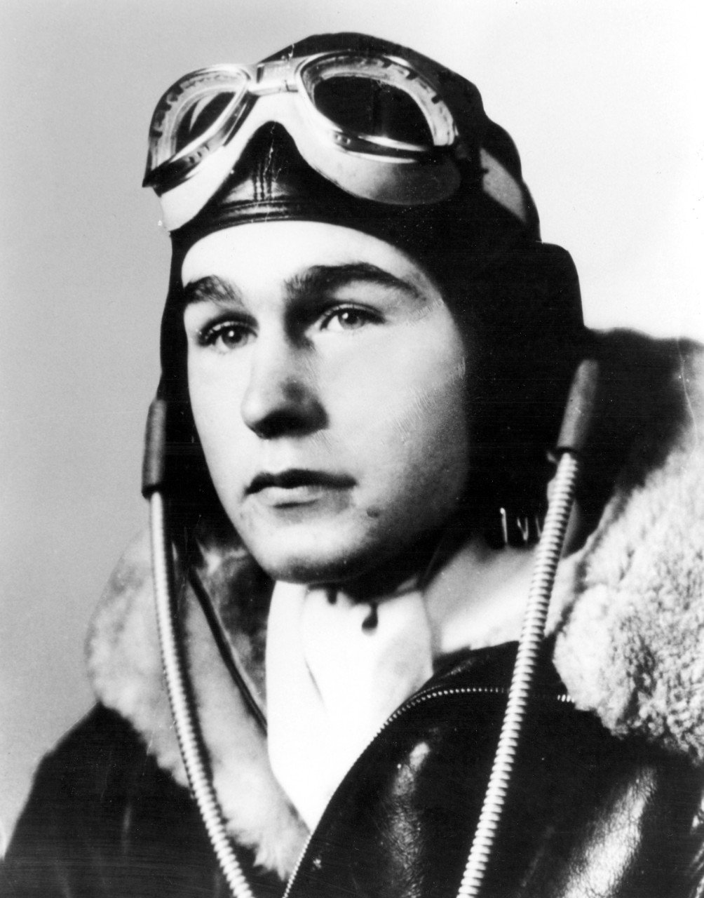 Future president George H.W. Bush trained as a Navy aviator at the Navy Pier facility during World War II.