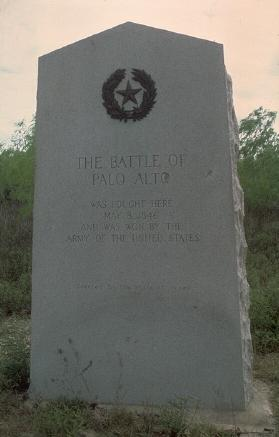 Battle of Palo Alto Historic Marker