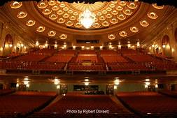 Inside of the Benedum Theater
