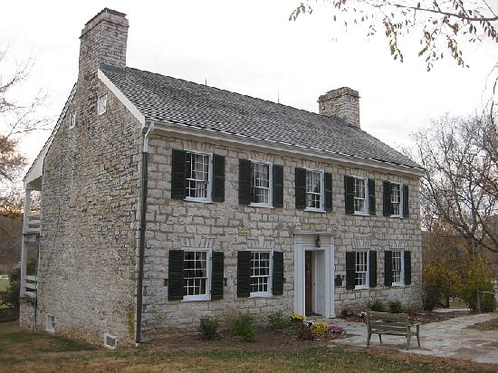 The Daniel Boone Home was built in the early 1800s by Daniel's son, Nathan.