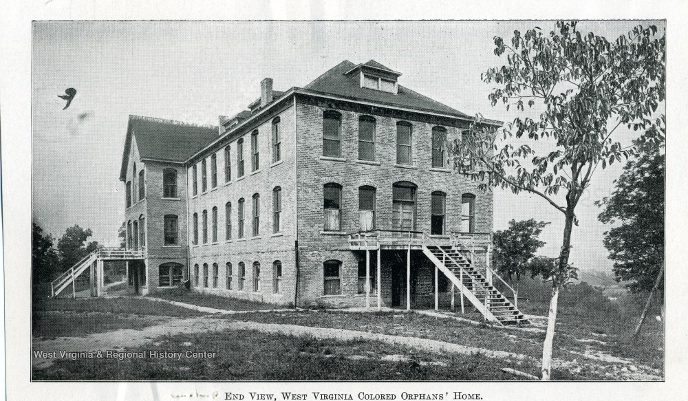 End View, West Virginia Colored Orphan's Home