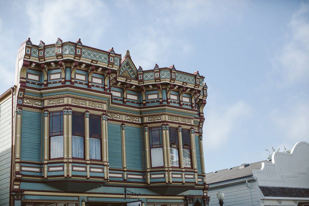 Victorian Architecture in Ferndale's Historic District